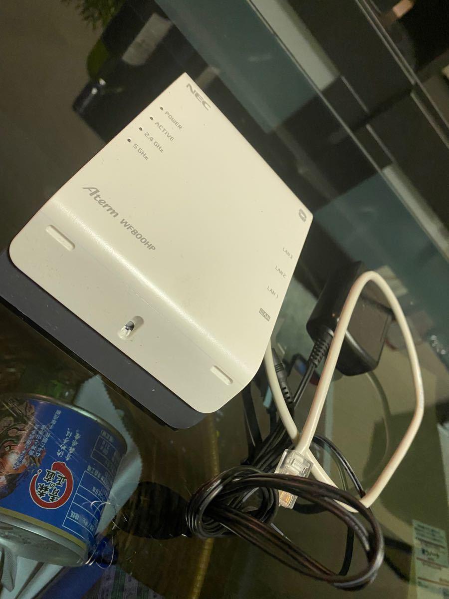 Wi-Fiルーター Aterm WF800HP 無線LANルーター