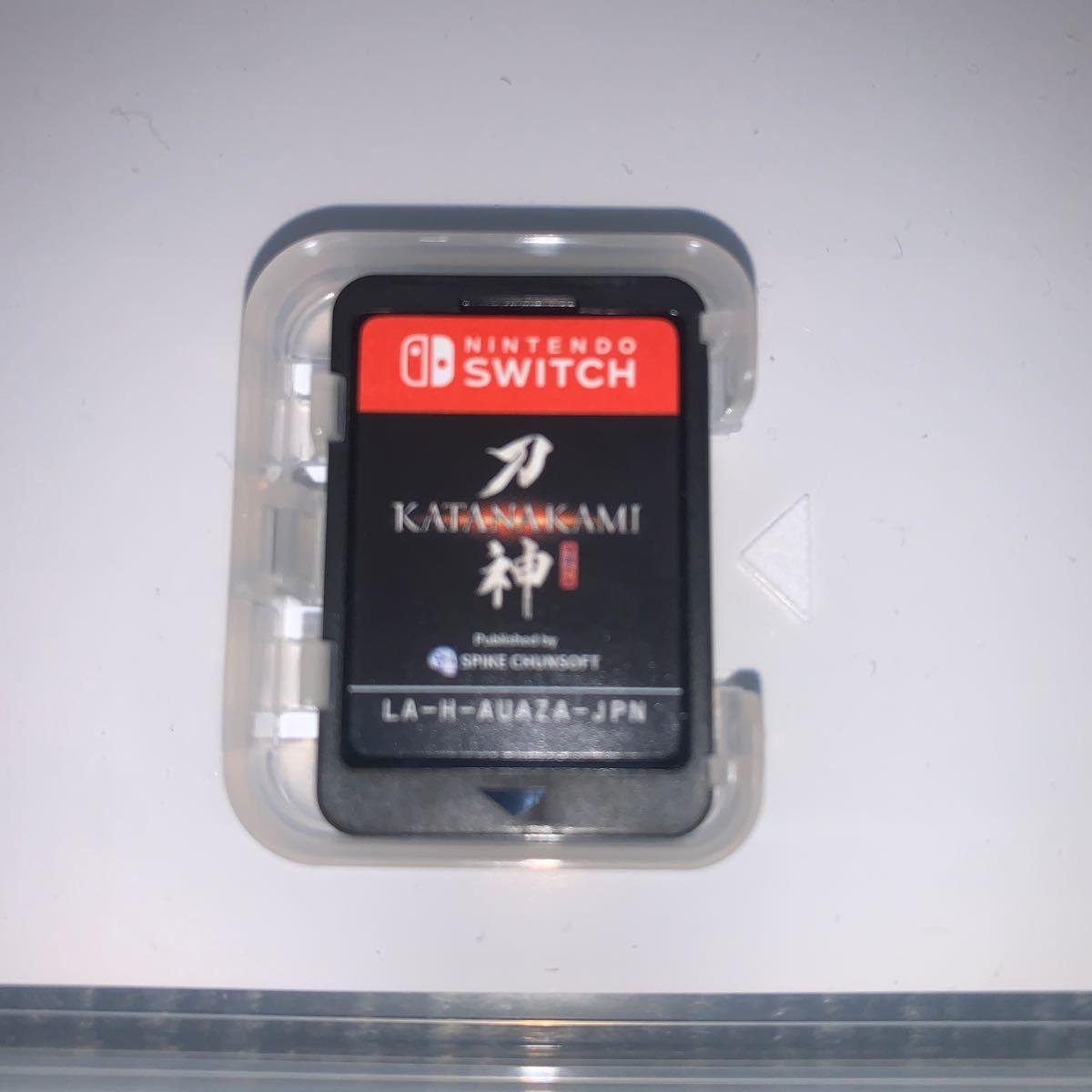 Switch Nintendo Switch ソフト 刀神 KATANAKAMI