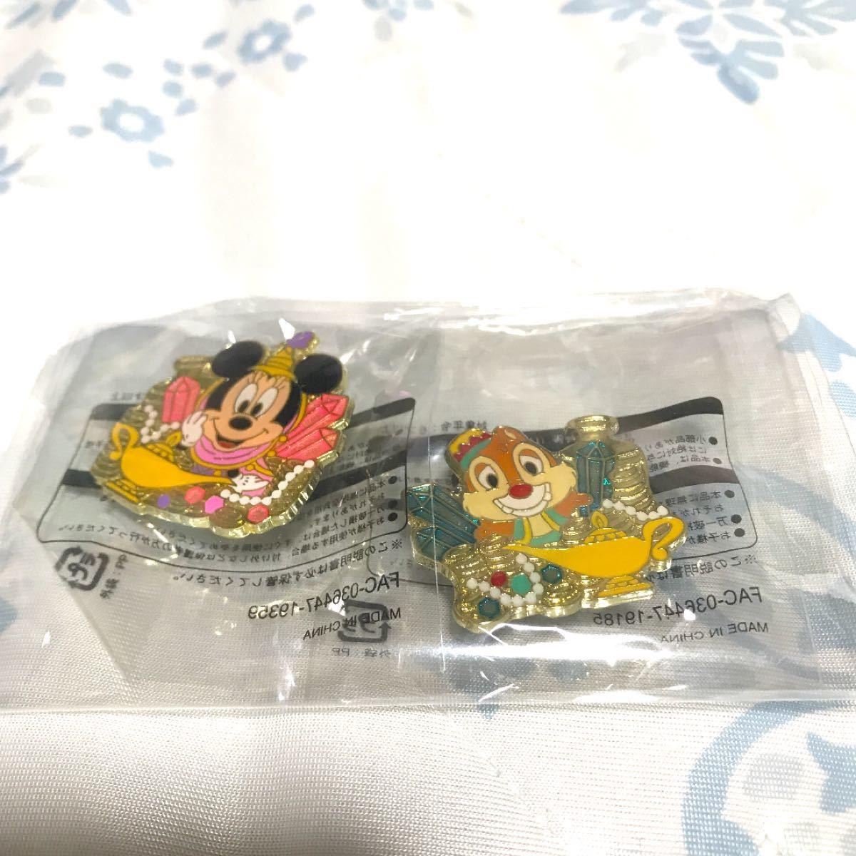 ピンバッチ★ピンバッジ★ディズニーオンラインショッピング限定★ミニー★デール