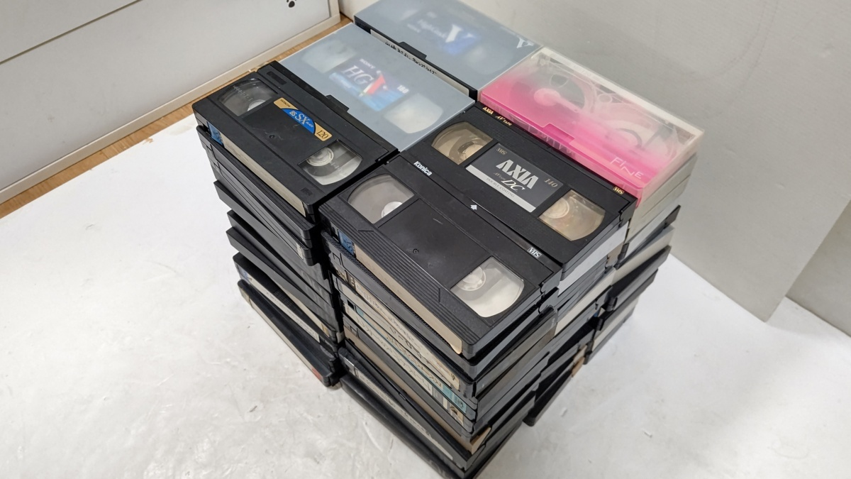 VHSビデオテープ 使用済み 72本 再録用