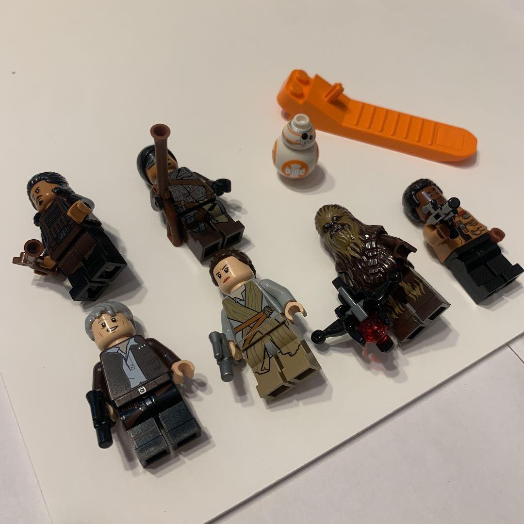 LEGO レゴ スターウォーズ 75105 ミレニアムファルコン 箱説明書付き_画像7