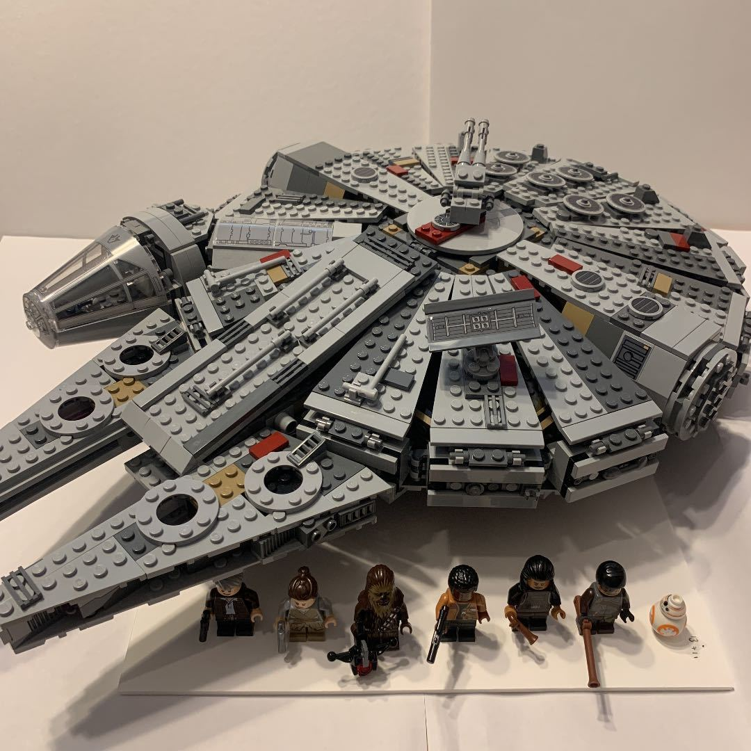 LEGO レゴ スターウォーズ 75105 ミレニアムファルコン 箱説明書付き_画像2
