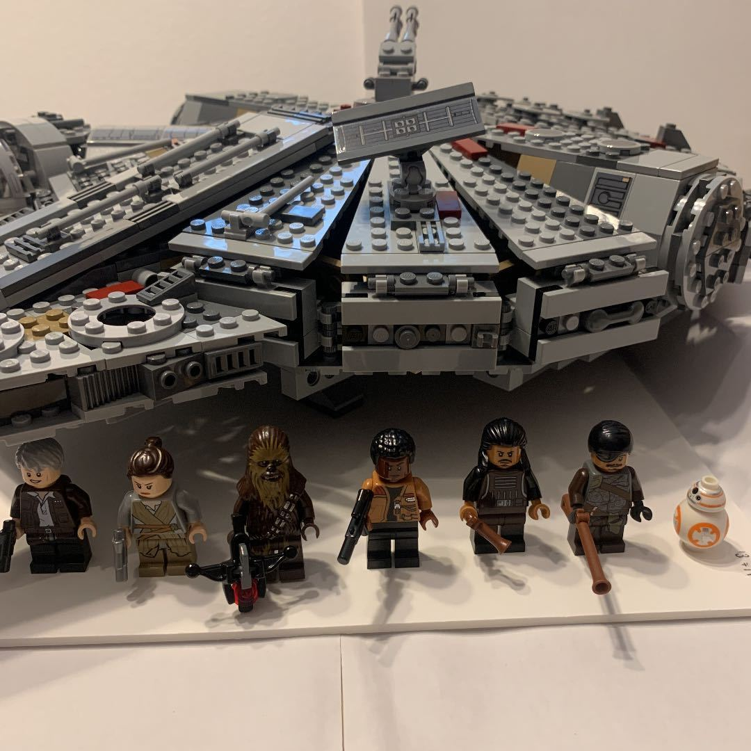 LEGO レゴ スターウォーズ 75105 ミレニアムファルコン 箱説明書付き_画像3