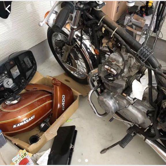 「KAWASAKI 旧車 kz400 希少ノーマル」の画像2