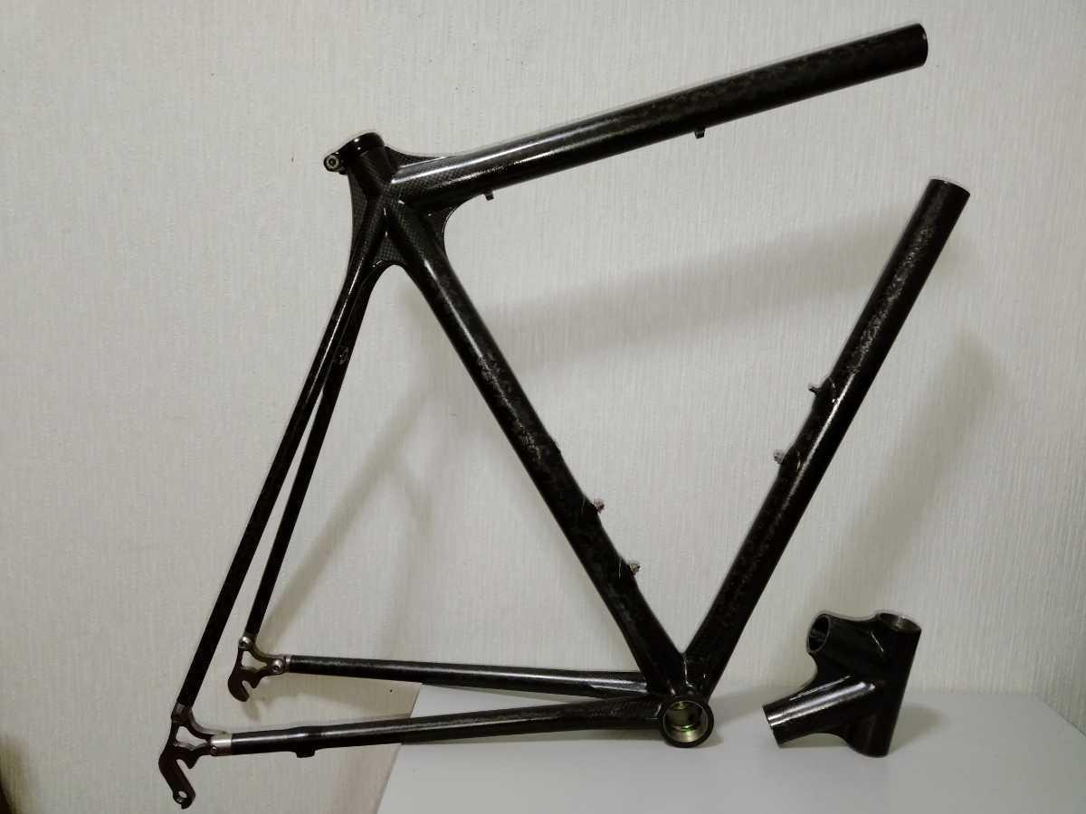 ジャンク Calfee Design Tetra?ロードバイクフレーム _画像1