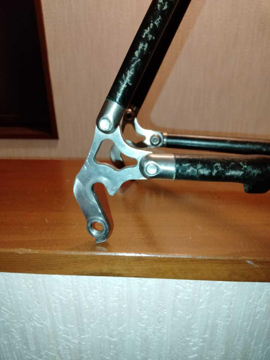 ジャンク Calfee Design Tetra?ロードバイクフレーム _画像2