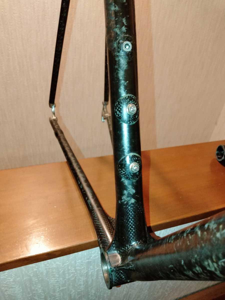 ジャンク Calfee Design Tetra?ロードバイクフレーム _画像8