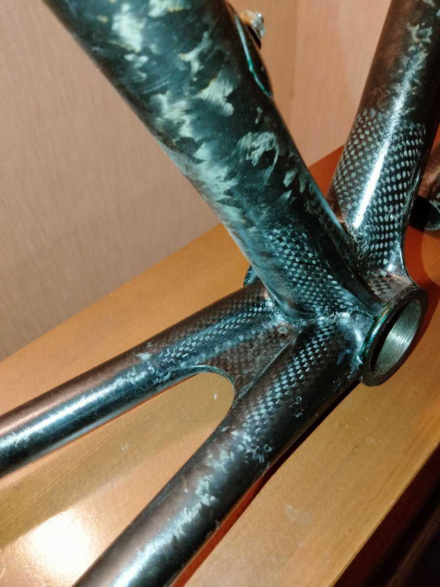 ジャンク Calfee Design Tetra?ロードバイクフレーム _画像3