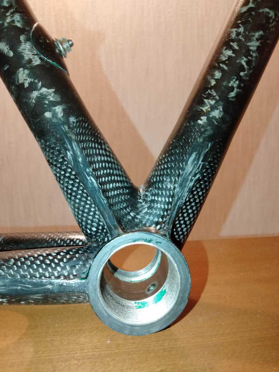 ジャンク Calfee Design Tetra?ロードバイクフレーム _画像10