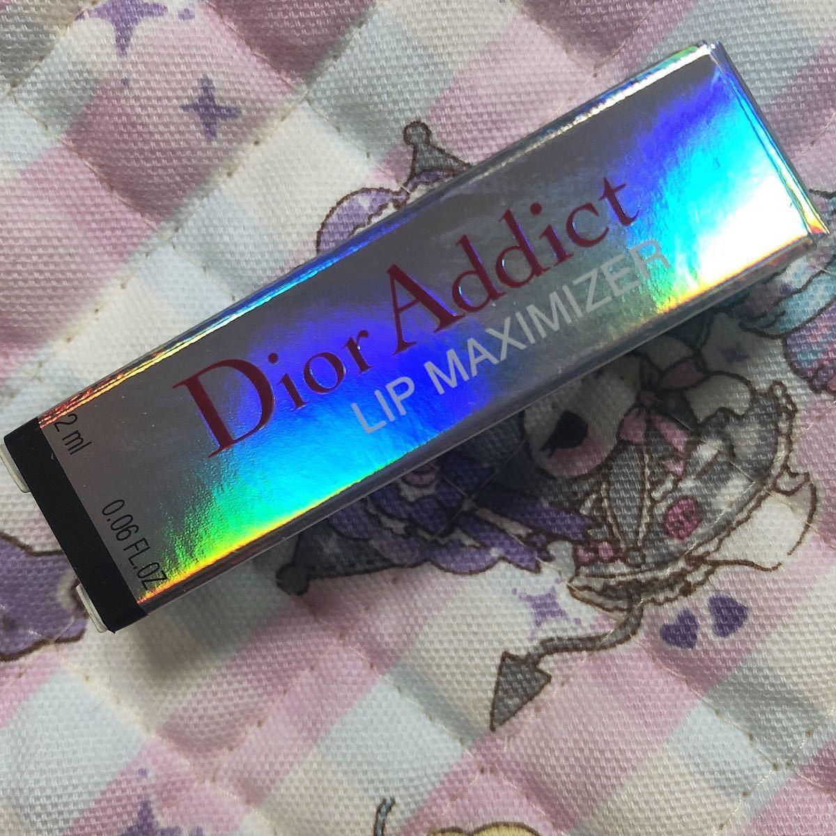 Dior  ディオール  アディクトリップマキシマイザー  001  試供品