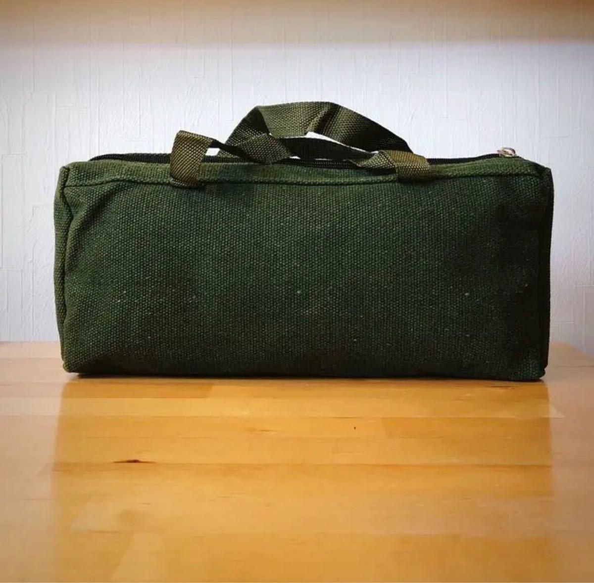 ペグ ケース 道具入れ グリーン ミリタリー キャンプ アウトドア テント タープ 男前 収納 お洒落