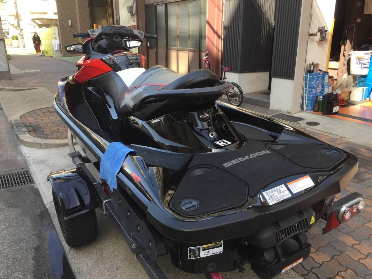 「★SEADOO★2014 RXT-X260RS PWC シードゥー 3人乗り トレーラーセット IBR スパーチャージャー付 260馬力 ジェットスキー マリンジェット」の画像3
