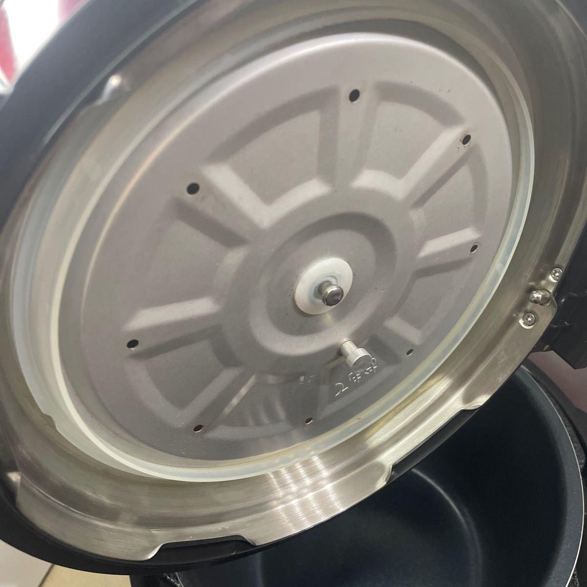 電気圧力鍋クッキングプロ専用レシピセット タイマー機能付 炊飯器 無水調理 圧力鍋 蒸し料理 正規品