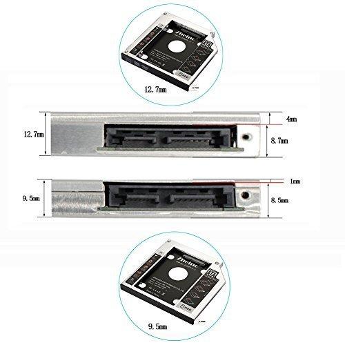 色CHN-DC-2530PE-12.7 Zheino 2nd 12.7mmノートPCドライブマウンタ セカンド 光学ドライブベイ用_画像6