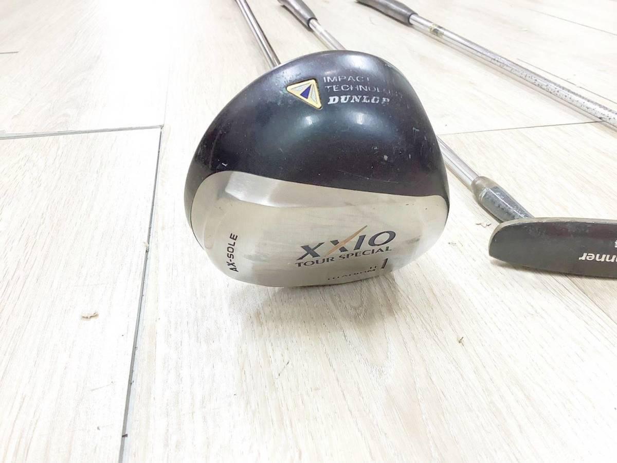 ◇クラブセット◆XXIO AX-SOLE/P-17B/Golf Plannner ゴルフクラブ 3点 セット 6A_画像5