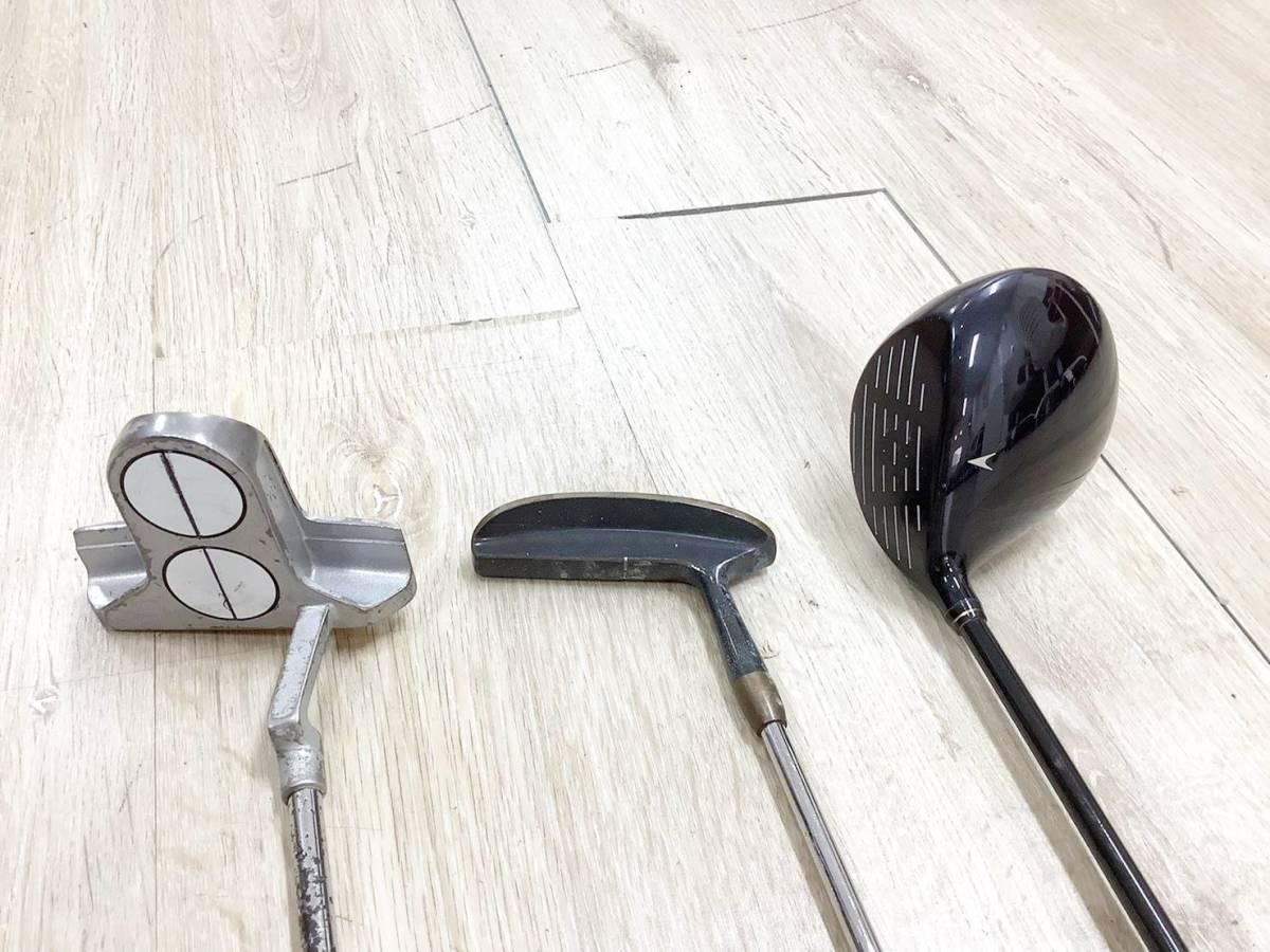 ◇クラブセット◆XXIO AX-SOLE/P-17B/Golf Plannner ゴルフクラブ 3点 セット 6A_画像3