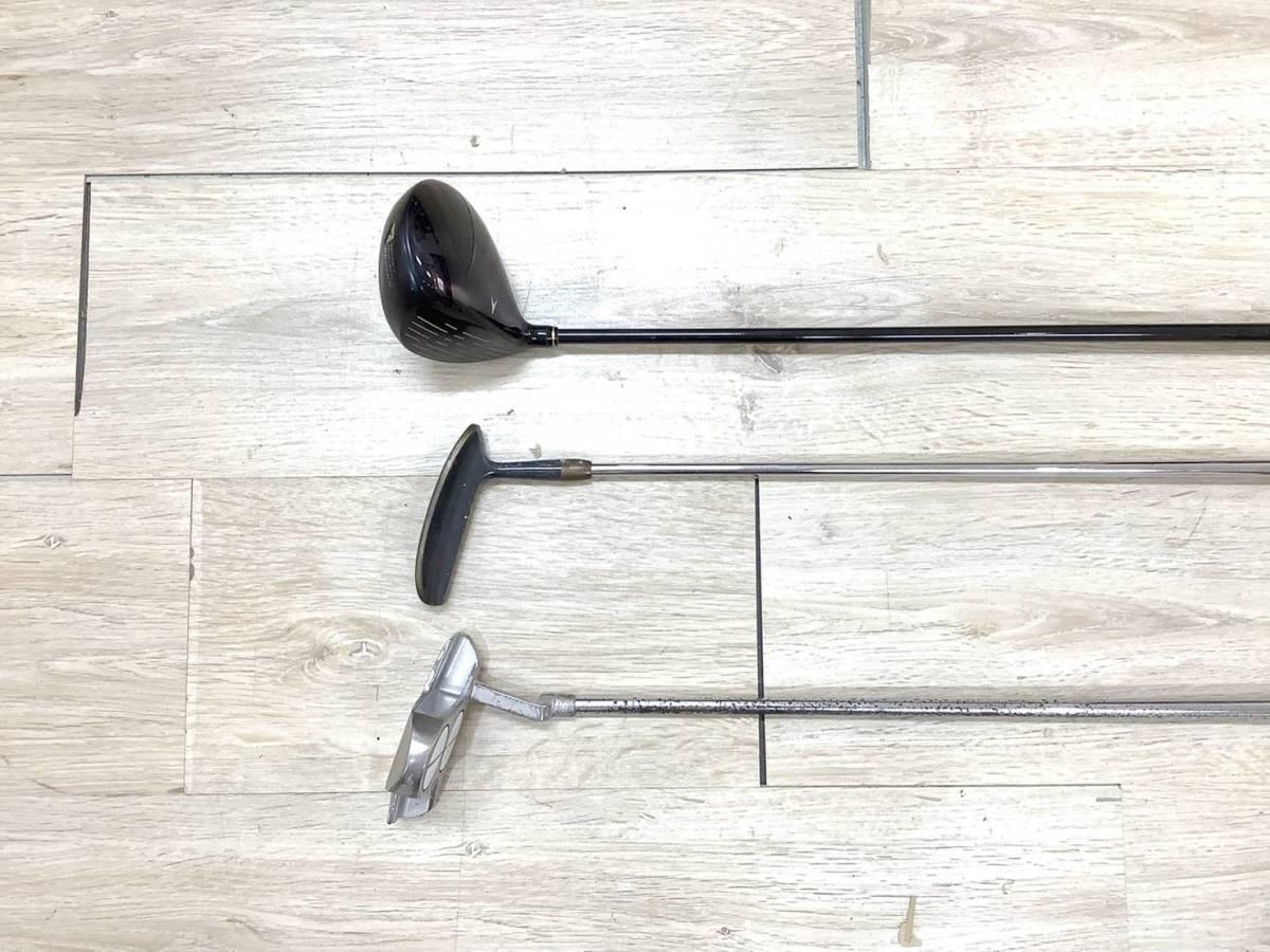 ◇クラブセット◆XXIO AX-SOLE/P-17B/Golf Plannner ゴルフクラブ 3点 セット 6A_画像4
