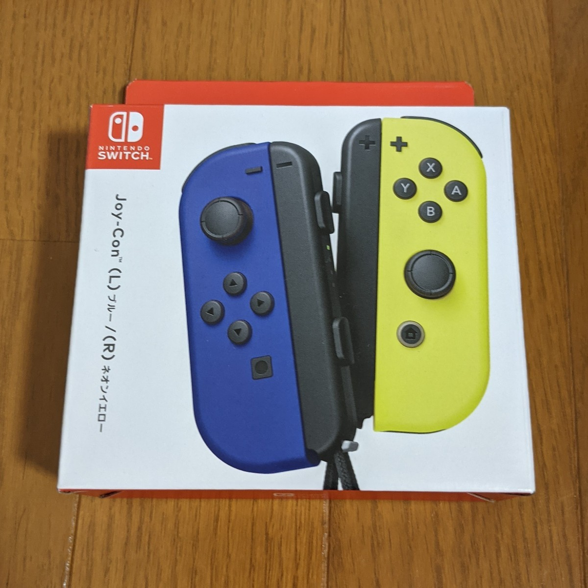 Nintendo JOY-CON (L)/(R) ブルー/ネオンイエロー