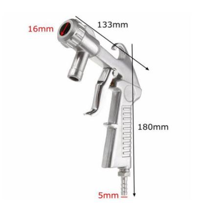 Mp4084:サンドブラスター フィードブラストスプレーガン 研磨ツール セラミックノズルチップキット 空気圧工具_画像6