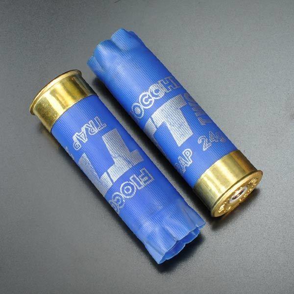 フィオッキ ショットガン 空薬莢 ブルー 2個セット♪yitalybl22_【中古】フィオッキ 空薬きょう 12ゲージ