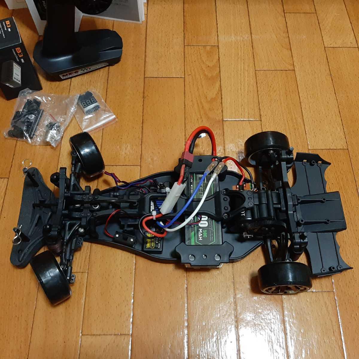 動画あり 即決《送料無料》 激安 YD-2 フルセット  豪華メカ 2駆 RWD ラジコン ドリパケ ヨコモ tt01 tt02 ドリフト ジャイロ