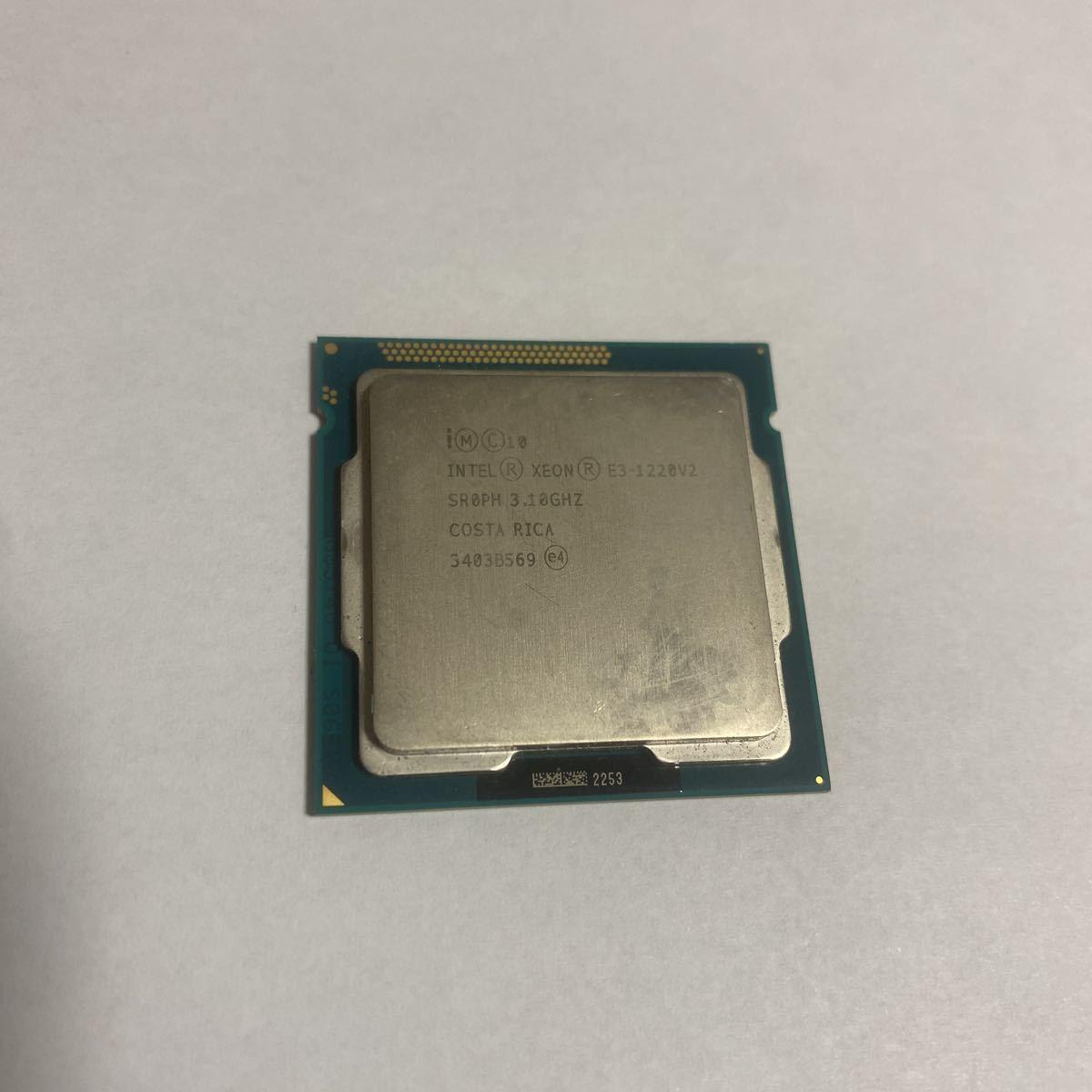 Intel Xeon E3-1220V2_画像1