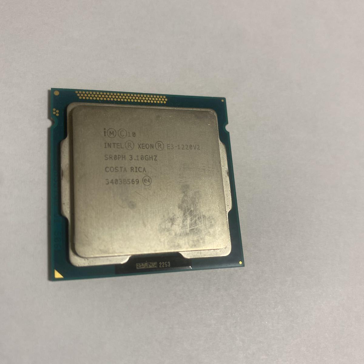 Intel Xeon E3-1220V2_画像2