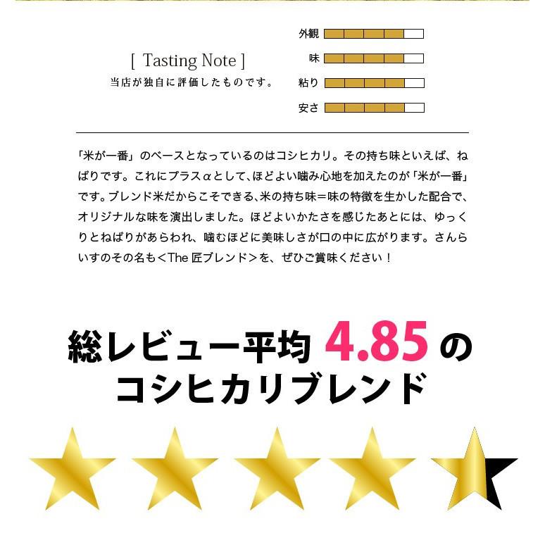 お買い得!令和2年産ブレンドコシヒカリ米が一番白米10kg業務用に人気 北海道・九州・沖縄を除いて送料無料_画像4