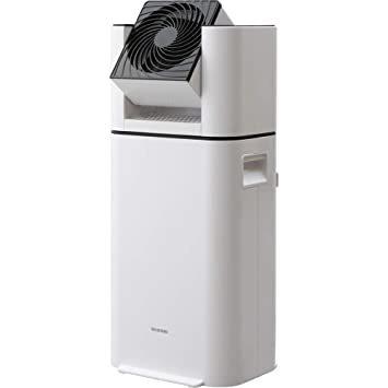 ホワイト アイリスオーヤマ 衣類乾燥除湿機 スピード乾燥 サーキュレーター機能付 デシカント式 ホワイト DDC-50_画像1