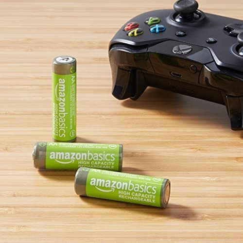 Amazonベーシック 充電池 高容量充電式ニッケル水素電池単3形8個セット (充電済み、最小容量 2400mAh、約500回使用可能)_画像8