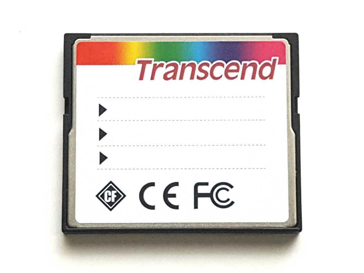 ☆美品☆ CFカード 4GB トランセンド 産業用 Transcend Industrial コンパクトフラッシュ CompactFlash Card_画像2