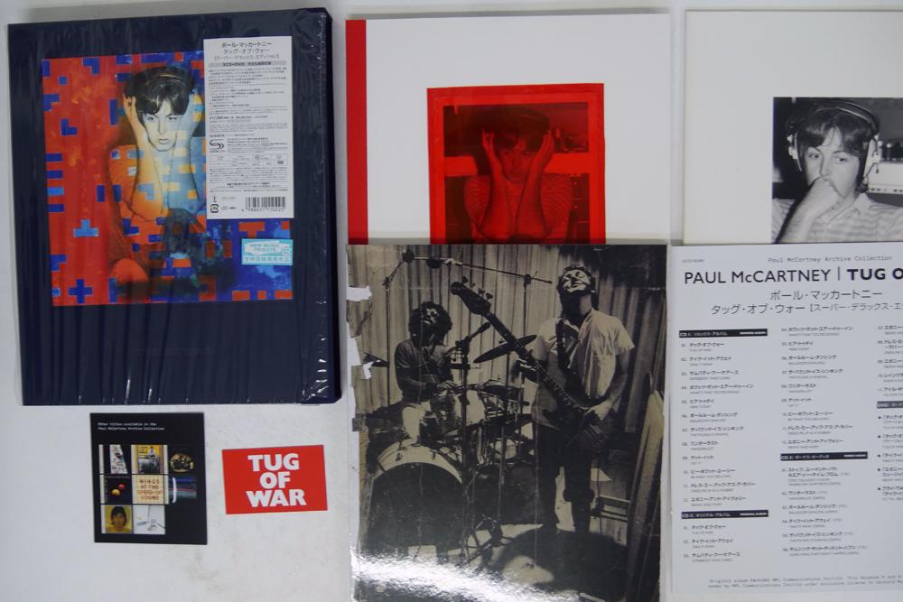 完品 ポール・マッカートニー/タッグ・オブ・ウォー スーパー・デラックス・エディション/MPL UCCO-90369