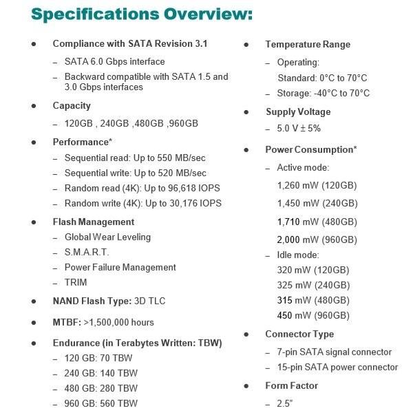 【SSD 240GB】Apacer AS340 PANTHER