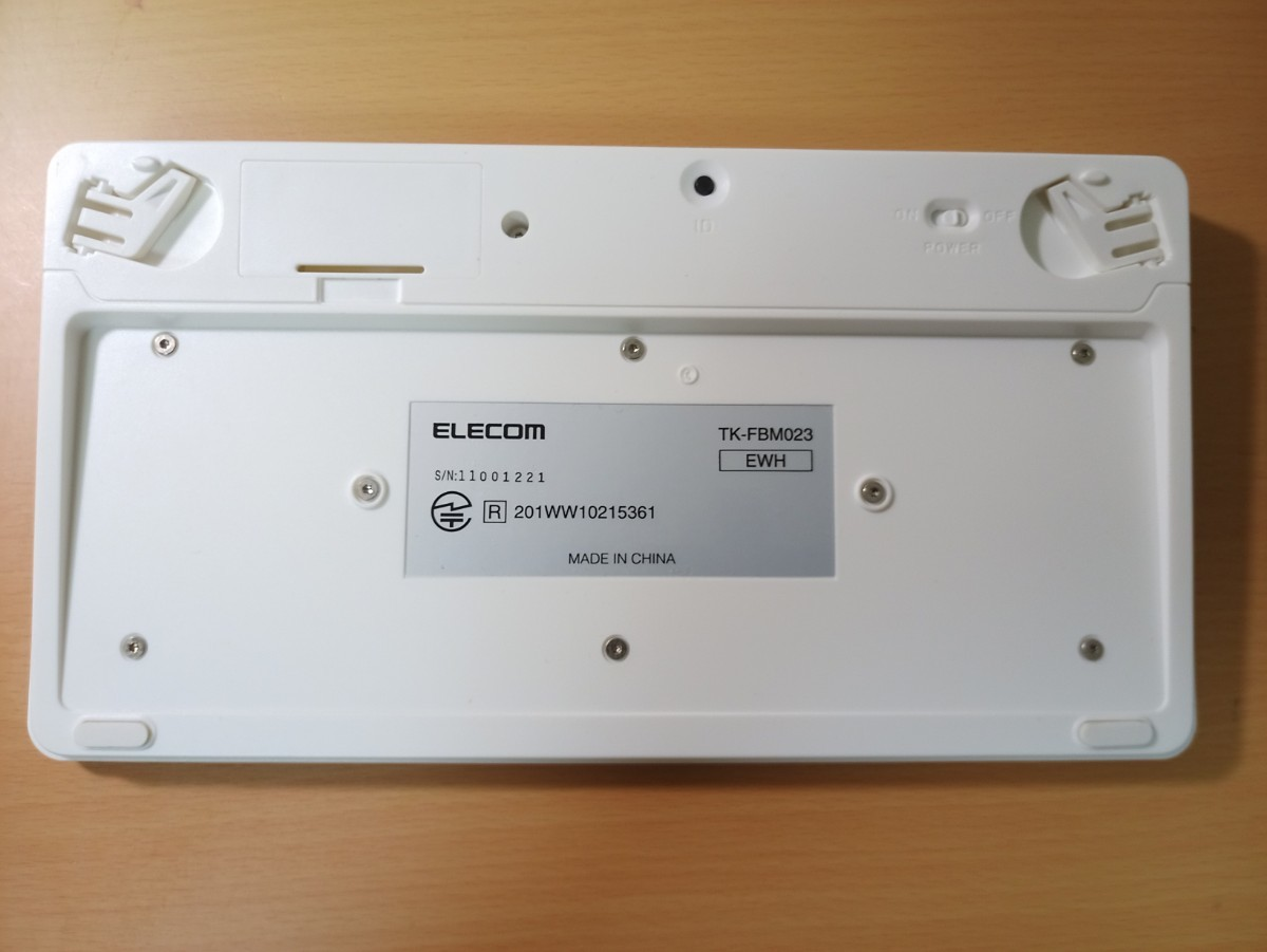 Bluetoothワイヤレスフルキーボード[日本語82キー配列]TK-FBM023シリーズ