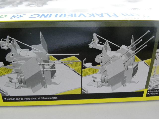 サイバーホビー 1/35 Sdkfz.7/1 2cm 四連装対空砲搭載 8トン ハーフトラック 初回限定仕様 _画像6