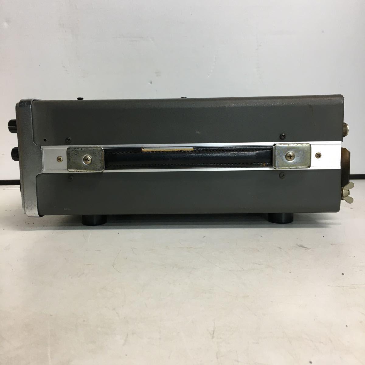 E066 TRIO トリオ TS-700 トランシーバー アマチュア無線機/本体のみ ジャンク品_画像2