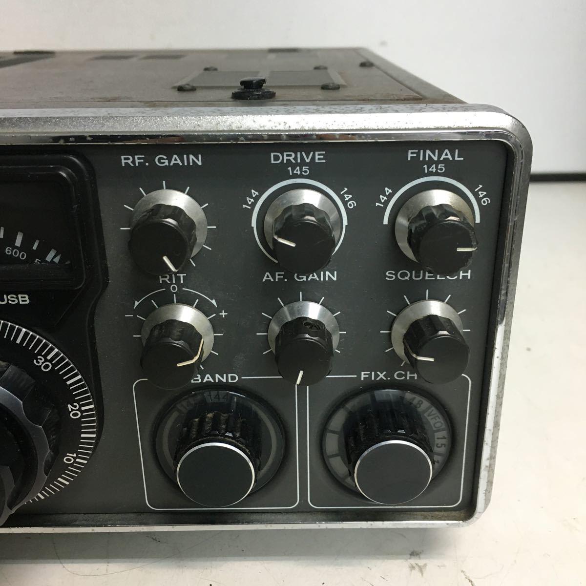 E066 TRIO トリオ TS-700 トランシーバー アマチュア無線機/本体のみ ジャンク品_画像8