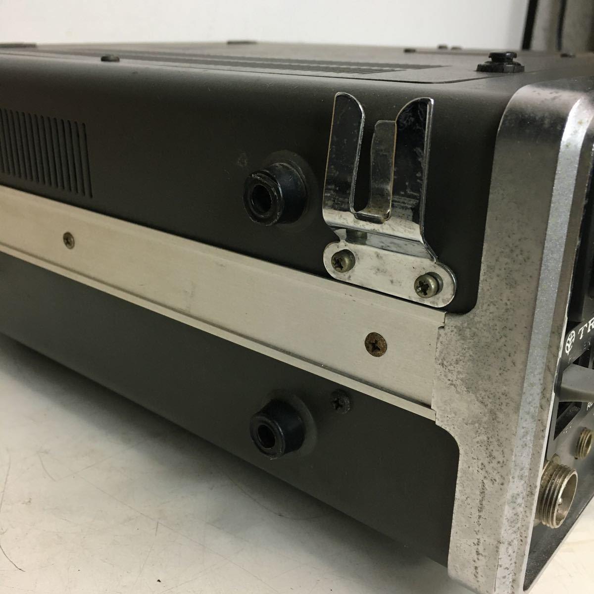 E066 TRIO トリオ TS-700 トランシーバー アマチュア無線機/本体のみ ジャンク品_画像9