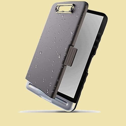 大人気 新品 未使用 クリップボ-ドフォルダ Resky V-5Q 会議用パッド 黒 a4 ファイルボ-ド バインダ-_画像1