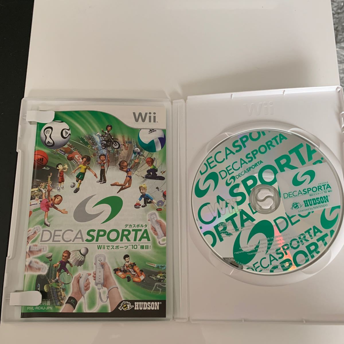 "【Wii】 DECA SPORTA Wiiでスポーツ""10""種目!"