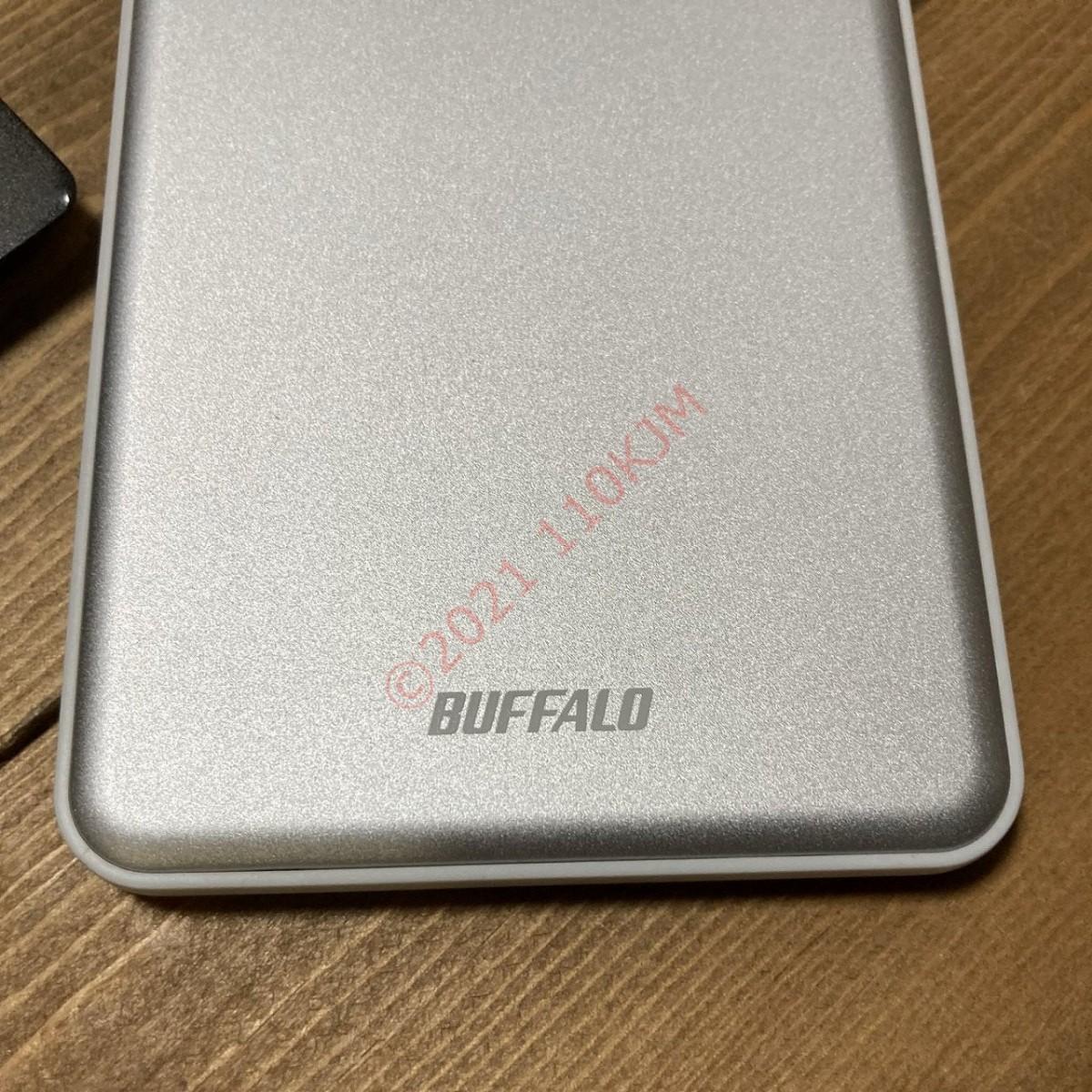 【使用103時間】 検査済 Buffalo 500GB USB3.0 ポータブルHDD