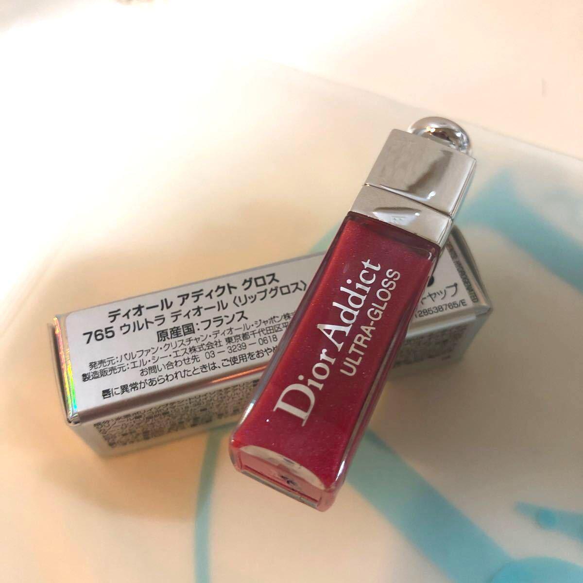 ディオールアディクトリップ リップグロス ディオールアディクトグロス Dior765サンプルサイズ