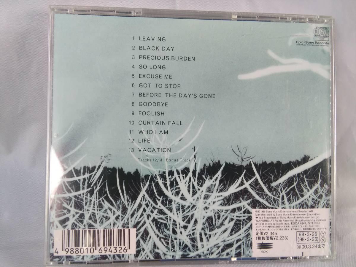B324 ☆ CD / ソフィー・セルマーニ / プレシャス・バーデン / Sophie Zelmani / Precious Burden ☆ _画像3