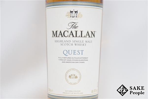 ◇注目! ザ マッカラン クエスト 700ml 40% 箱 スコッチ_サンプル画像