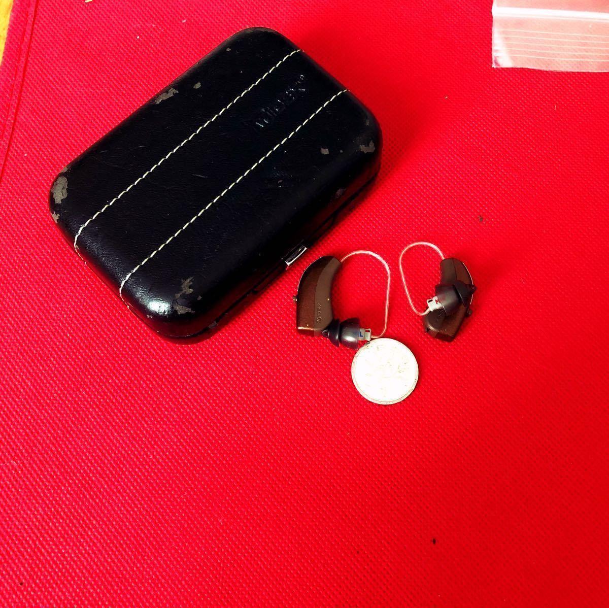 破格です!最先端AIプレミム機種430,000円【ワイデックス補聴器イヴォークEvoke220】RIC両耳セット ラジオや音声はは補聴器の中から聴ける!