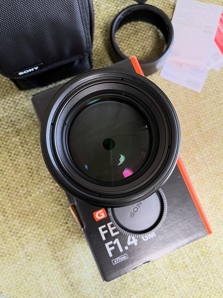 SONY FE 85mm F1.4 GM SEL85F14GM ソニー G master 単焦点レンズ_画像4