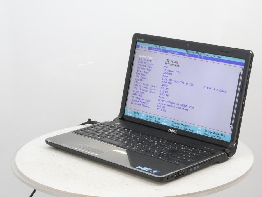 DELL Inspiron 1564 - Core i5 M 430 2.27GHz 2 GB■現状品