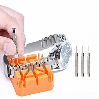 腕時計修理セット (10点セット)腕時計ベルト調整 腕時計修理ツール 工具セット 腕時計バンド調整_画像6