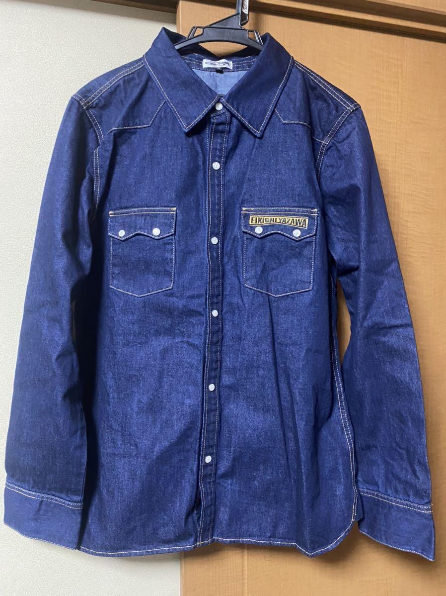 美品 矢沢永吉 デニムシャツ ウエスタンシャツ XL