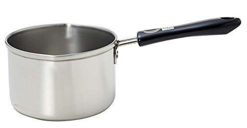 新品_パール金属 ミルクパン 13cm IH対応 ステンレス デイズキッチン 日本製 H-5171_画像1
